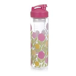 Бутылка для воды с ярким цветочным рисунком SERENA INFUSER WATER BOTTLE 700ml (Multi)