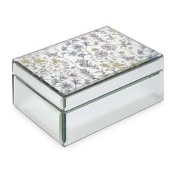 Зеркальная шкатулка MEADOW FLOWER JEWELLERY BOX 7*12,5*18 (Mirrored)