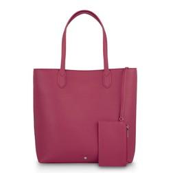 Сумка-шоппер розового цвета  BG 263