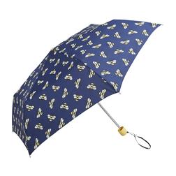 Синий зонт с принтом пчелок SL 595