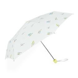 Белый зонт с принтом птичек SL 597