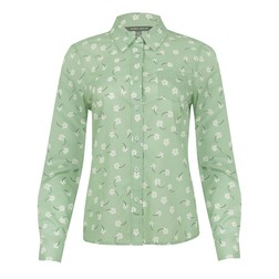 Блуза мятного цвета BL 334