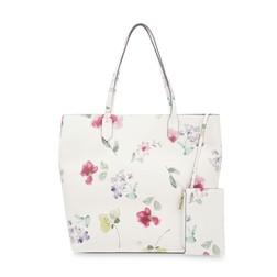 Светлая сумка с цветочным принтом BG 258