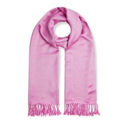 Шарф розового цвета SH 917