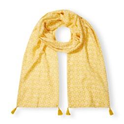 Шарф желтого цвета SH 957