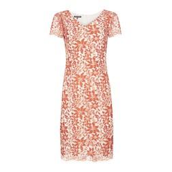 Платье с принтом оранжевых цветов MD 273