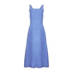 Платье-сарафан синего цвета MD 275