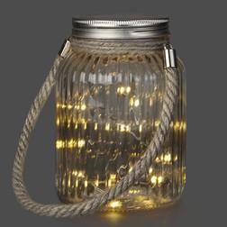 Декоративный подсвечник JAR WITH WIRE LIGHTS 11*10*15,5 (Clear)