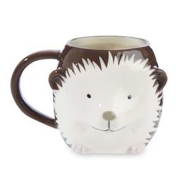 Чашка с изображением ежика HEDGEHOG 9*13 (Brown)