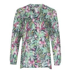 Блуза в гавайской тематике BL 530