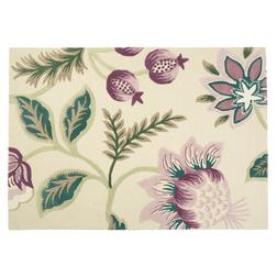 Толстый ковер в фиолетовые цветы MILFORD 140*200 (Grape)