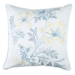 Декоративная подушка с вышивкой цветов SANDFORD 45*45 (Seaspray)