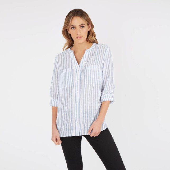 рубашки без воротника 5